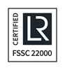 FSSC 22000 CERTIFIED positive RGB